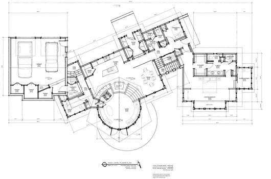 YC A1.1 Main Level Plan