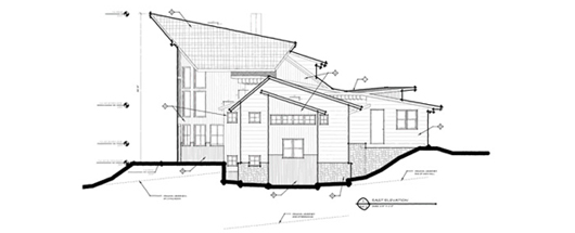 YC A4.1 East Elevation
